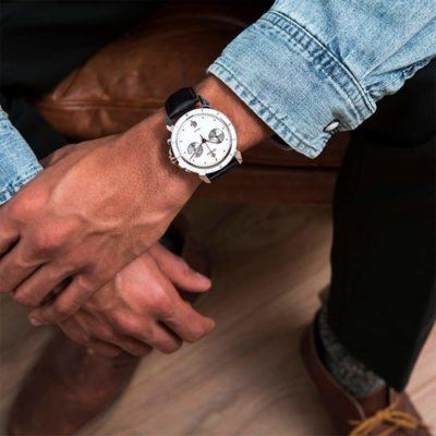 Jowissa LeWy 6 Swiss Men's White Dial Watch